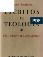 Escritos de Teologia - 03 - Rahner Karl - OCR