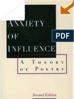 Harold Bloom - The Anxiety of Influence. a Theory of Poetry (2nd. Ed. 1997)