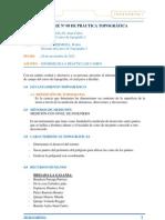 INFORME Nº 09DE PRÁCTICA TOPOGRÁFICA