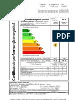Certificat de performanta a cladirilor