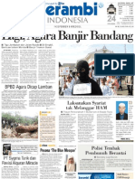 Harian Serambi Indonesia Tanggal 16 Nov 2012