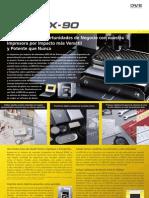 MPX90 Brochure ES
