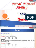 General Mental Ability Series