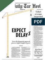 The Daily Tar Heel for November 20, 2012