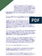 Ελληνικές λέξεις αυτούσιες στα αγγλικά - Greek words in english language