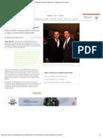 17-11-12 Cinco Radio - Acude RMV Al Informe de Roberto Sandoval en Nayarit