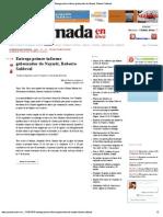 17-11-12 La Jornada en Internet - Entrega Primer Informe Gobernador de Nayarit, Roberto Saldoval
