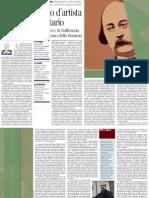 Pietro Citati Su Flaubert - Corriere Della Sera Ed.nazionale 20.11.2012