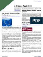 Financial News Articles April 2012