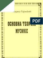 Marko Tajcevic-Osnovna Teorija Muzike