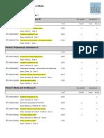 Book list IC 2012-2013