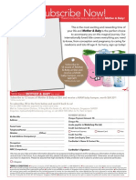 Mother & Baby Subscription Form