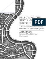 Selecting the Best Analyst - Appendix G