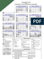 Calendário IFET-2010