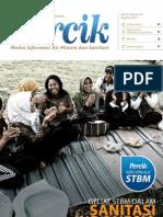 Majalah Percik Sanitasi Total Berbasis Masyarakat STBM 2012