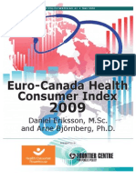 2009 Euro-Canada Health Consumer Index