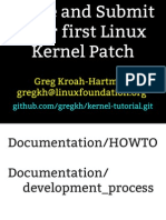 Kernel Patch Tutorial
