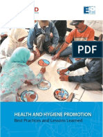 Health and Hygiene Promotion Best Practices and Lessons Learned
