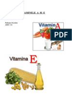 Vitaminele a Si e