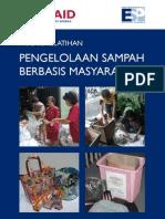 Modul Pengelolaan Sampah Berbasis Masyarakat