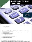 COmputation of Total Income (1)