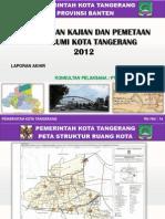 Presentasi Laporan Draft Akhir Penyusunan Kajian Rupabumi Kota Tangerang, Gazetir
