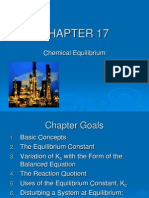 CHAPTER 17 Chemical Equilibria 1