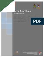 Acta Asamblea 19 11 2012