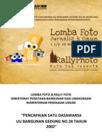 Lomba Foto Cipta Karya Pu 2012 Rev
