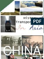 History ot Transportation in Asia