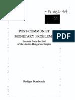 POST-COMMUNIST MONETARY PROBLEMS