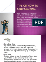 19753617 Tips on How to Stop Smoking