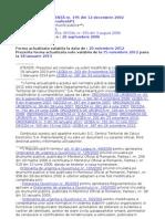 OUG 195-2002-Actualizata 20-11-2012
