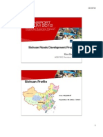 [B3] XIAO Guangrui_TF 2012 Xiao Sichuan Roads Development Projects