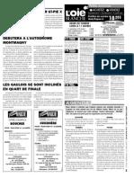 Petites annonces et offres d'emploi du Journal L'Oie Blanche du 21 novembre 2012