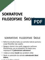 SOKRATOVE  FILOZOFSKE  ŠKOLE