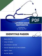 Pp Case Mastoiditis