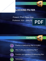 Deblocking Filter