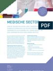 TEESING Marktflyer Medische Sector