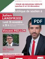 Réunion publique avec Vincent Peillon