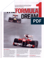 The Formula-1 dream