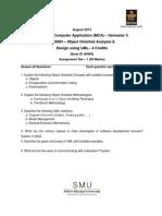 MC0083 Fall Drive Assignment 2012