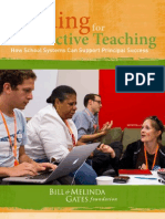 Leading for Effective Teaching