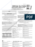 Diário Oficial. Suplemento 15.10.12