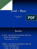 5 Acid – Base 2011