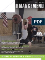 The Performance Menu Issue 3