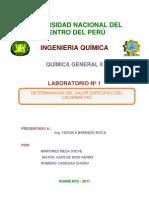 Laboratorio Numero 1 de Quimica