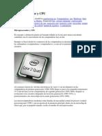 Microprocesador y