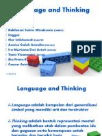 Persentasi Language and Thinking