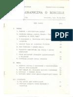Prasa zagraniczna o Kościele .Dokument rządowy z 1984 roku ,o ograniczonym wówczas rozpowszechnianiu.